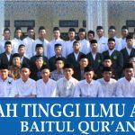 Pengumuman Kelulusan Mahasiswa Baru STIQ Baitul Qur'an Depok 2018.