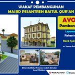 Wakaf Pembangunan Masjid Baitul Qur'an