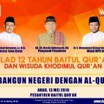 Milad Baitul Qur'an ke 12 dan wisuda Khodimul Qur'an