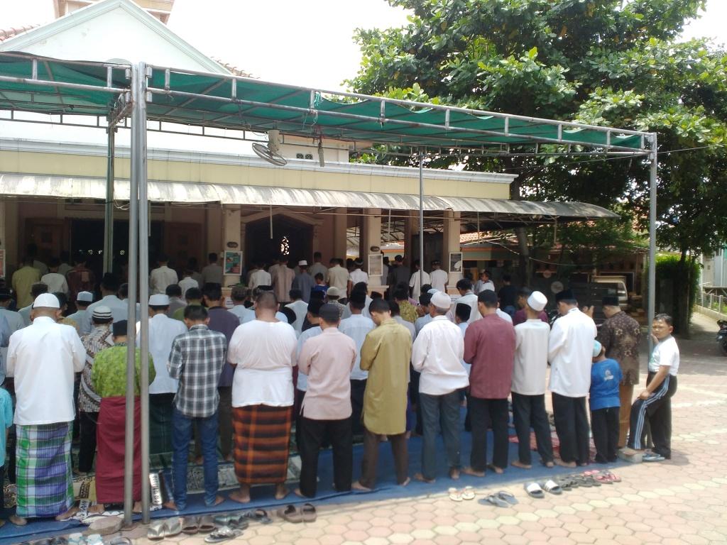 Jumatan Terakhir Di Masjid Baitul Qur'an Sebelum Renovasi